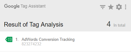 adword conversions tracking fire