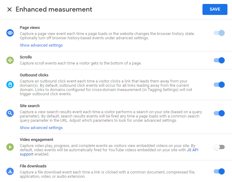 สอนตั้งค่า Click Event Tracking ใน Google Analytics 4 enhanced measurement event